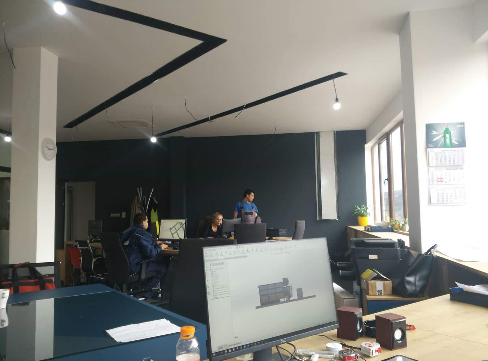 new office facilities