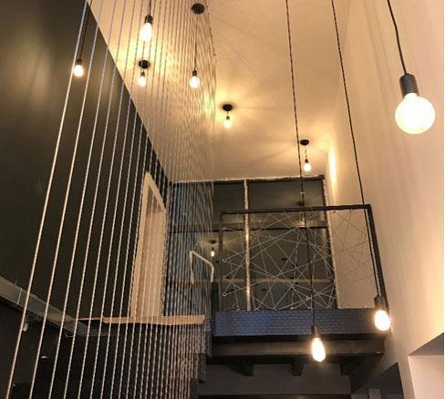 Дизайн на офис в индустриален стил