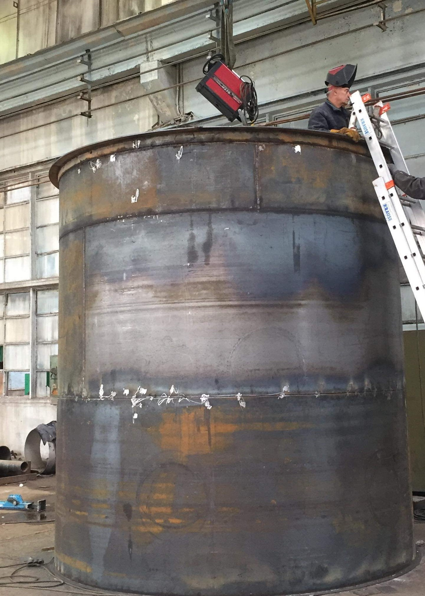 steel tank welding